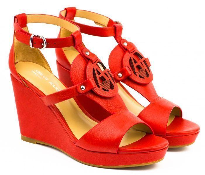 Купить Босоножки женские Armani Jeans EF184, Красный