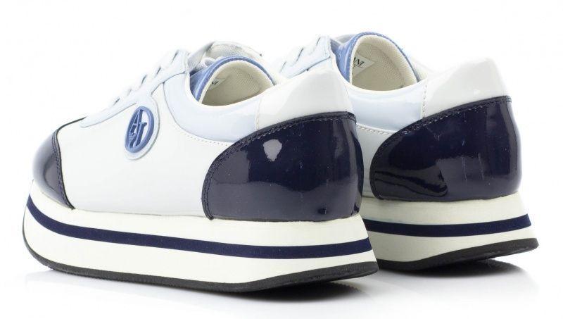 Кроссовки для женщин Armani Jeans EF228 примерка, 2017