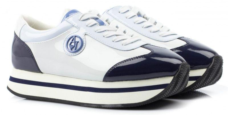 Кроссовки для женщин Armani Jeans EF228 брендовая обувь, 2017