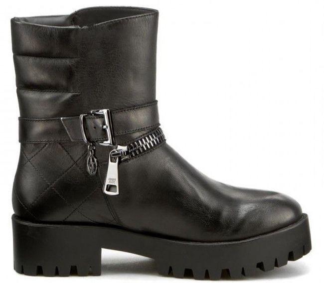 Купить Ботинки женские Armani Jeans EF261, Черный