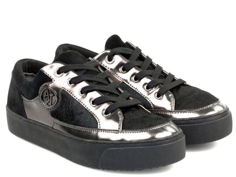 Купить Кроссовки женские Armani Jeans EF268, Черный