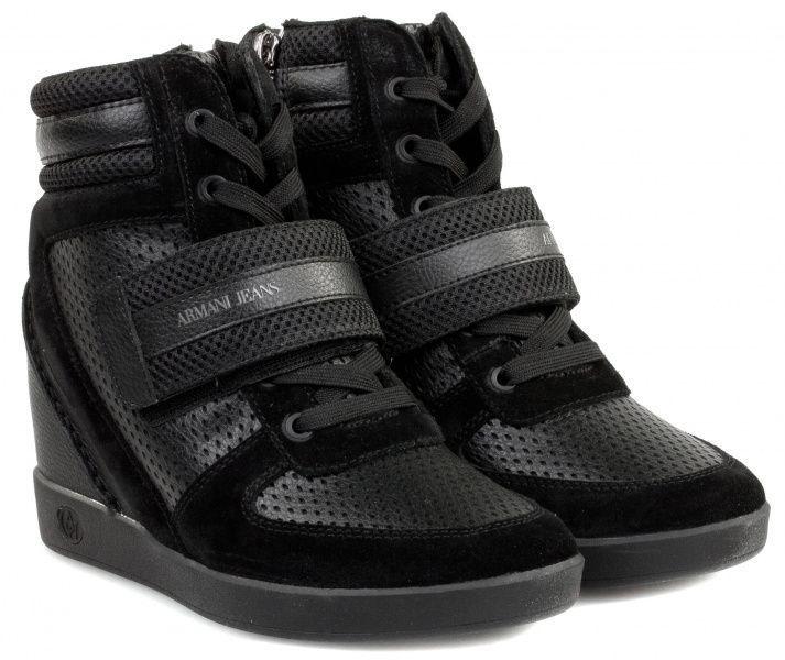 Купить Ботинки женские Armani Jeans EF270, Черный