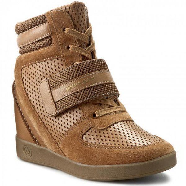 Ботинки женские Armani Jeans EF271 размеры обуви, 2017