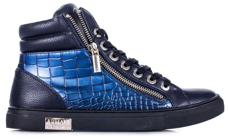 Купить Ботинки для женщин Armani Jeans WOMAN PVC/PLASTIC SNEAKER EF370, Синий