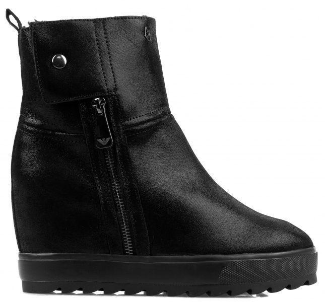 Купить Ботинки для женщин Armani Jeans WOMAN PVC/PLASTIC BOOT EF381, Черный