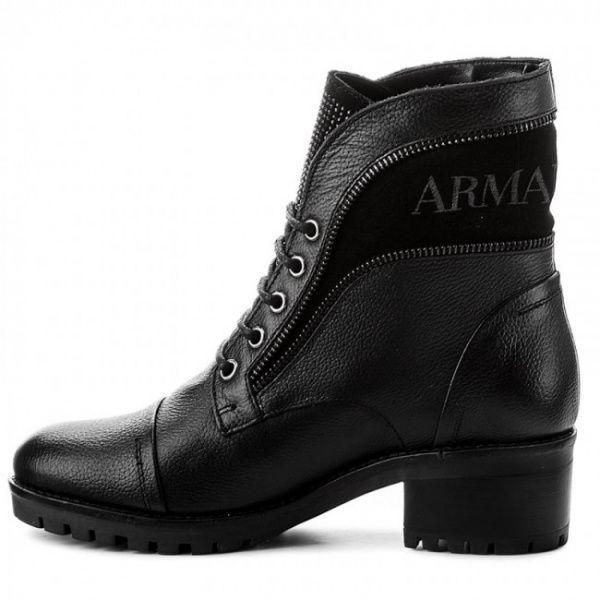 Ботинки для женщин Armani Jeans WOMAN LEATHER BOOT 925269-7A629-00020 смотреть, 2017