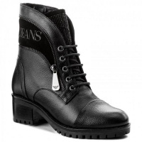 Ботинки для женщин Armani Jeans WOMAN LEATHER BOOT 925269-7A629-00020 , 2017