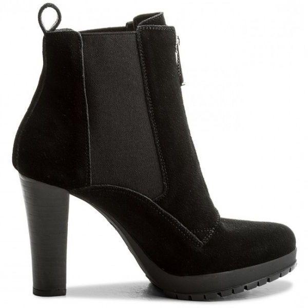 Купить Ботинки женские Armani Jeans WOMAN LEATHER BOOT EF386, Черный