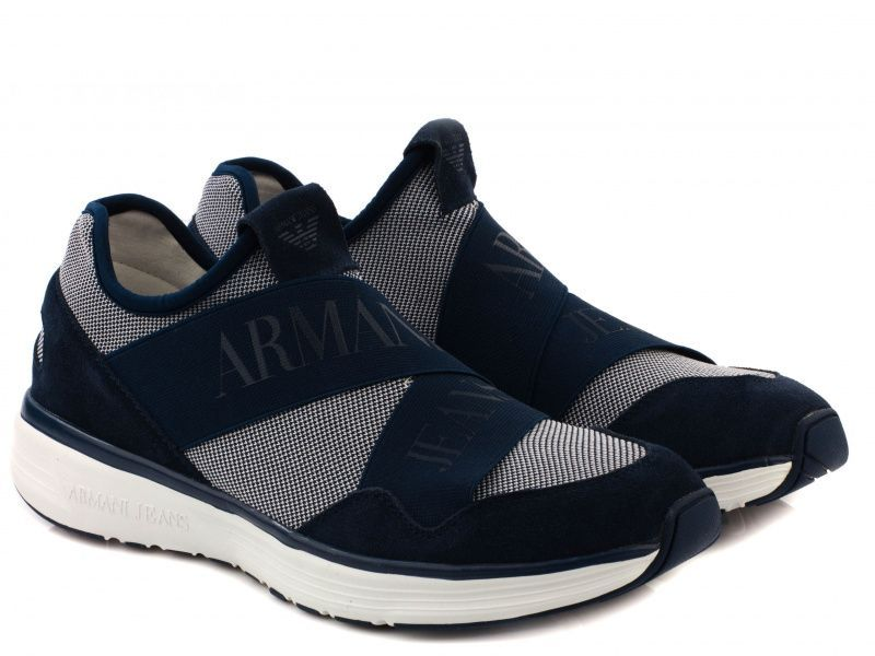Кроссовки для мужчин Armani Jeans EH135 брендовая обувь, 2017