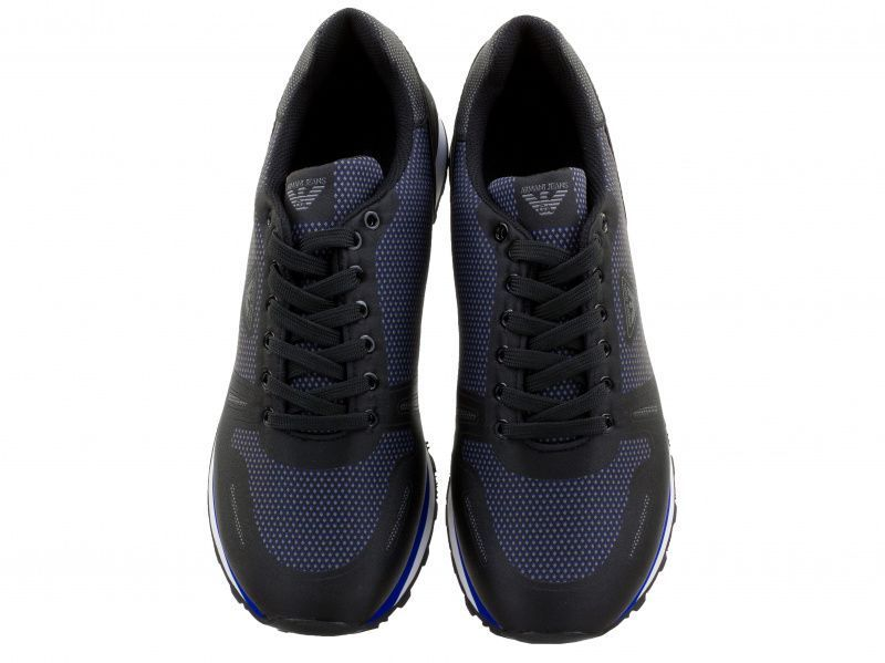 Кроссовки для мужчин Armani Jeans MAN WOVEN SNEAKER EH167 брендовая обувь, 2017