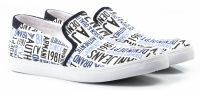 мужская обувь Armani Jeans белого цвета цена, 2017