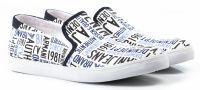 мужская обувь Armani Jeans белого цвета, фото, intertop