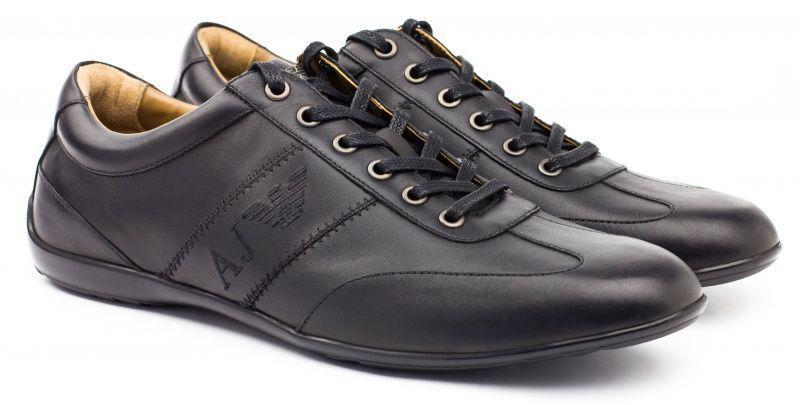 Кроссовки мужские Armani Jeans EH9, Черный  - купить со скидкой