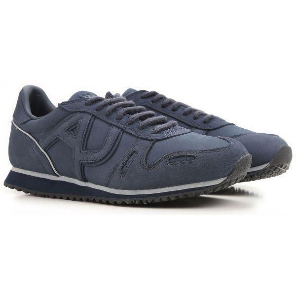 Купить Кроссовки для мужчин Armani Jeans EH98, Синий