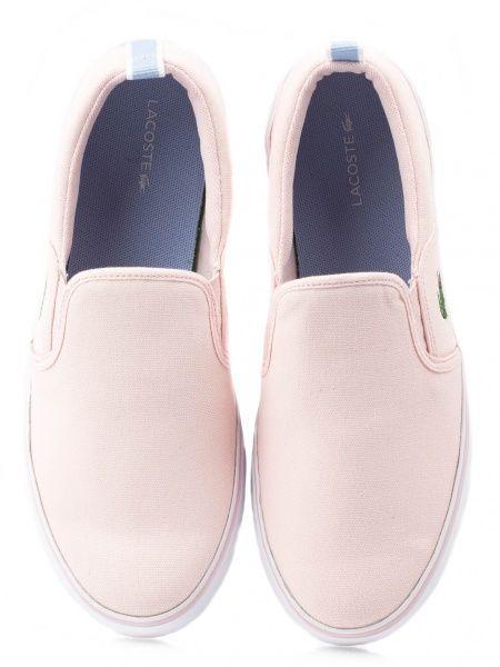 Lacoste Cлипоны  модель EK32 размерная сетка обуви, 2017
