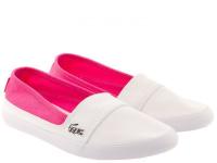 Слипоны для детей Lacoste 733CAJ1025B53 купить обувь, 2017