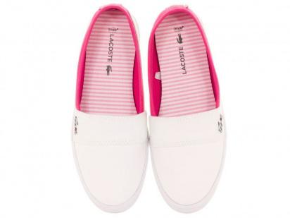 Слипоны для детей Lacoste 733CAJ1025B53 размеры обуви, 2017
