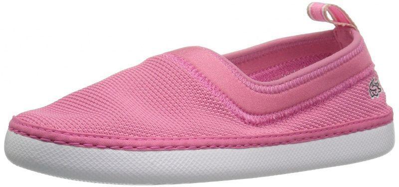 Слипоны для детей Lacoste 735CAC0013F50 купить обувь, 2017