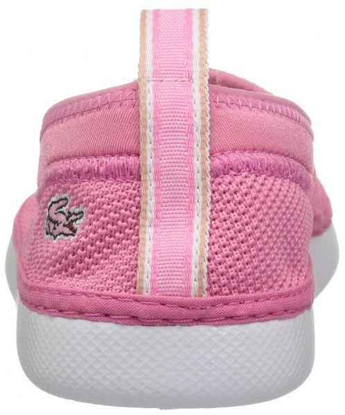 Слипоны для детей Lacoste 735CAC0013F50 размеры обуви, 2017