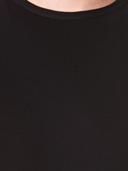 Майка Emy модель 6111 Чоловіча майка-Черный — фото 3 - INTERTOP
