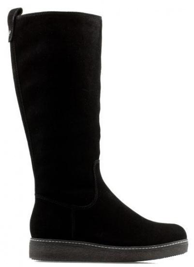 Сапоги для женщин Caprice 26608-29-004 BLACK SUEDE цена обуви, 2017