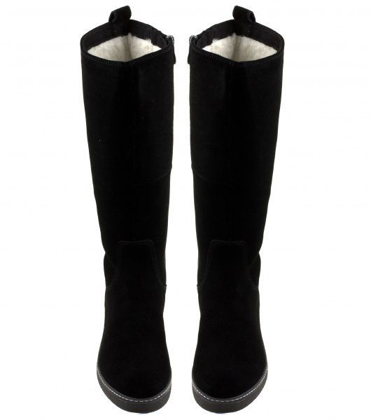 Сапоги для женщин Caprice 26608-29-004 BLACK SUEDE брендовая обувь, 2017