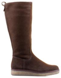 Сапоги для женщин Caprice 26608-29-338 DK BROWN SUEDE модная обувь, 2017