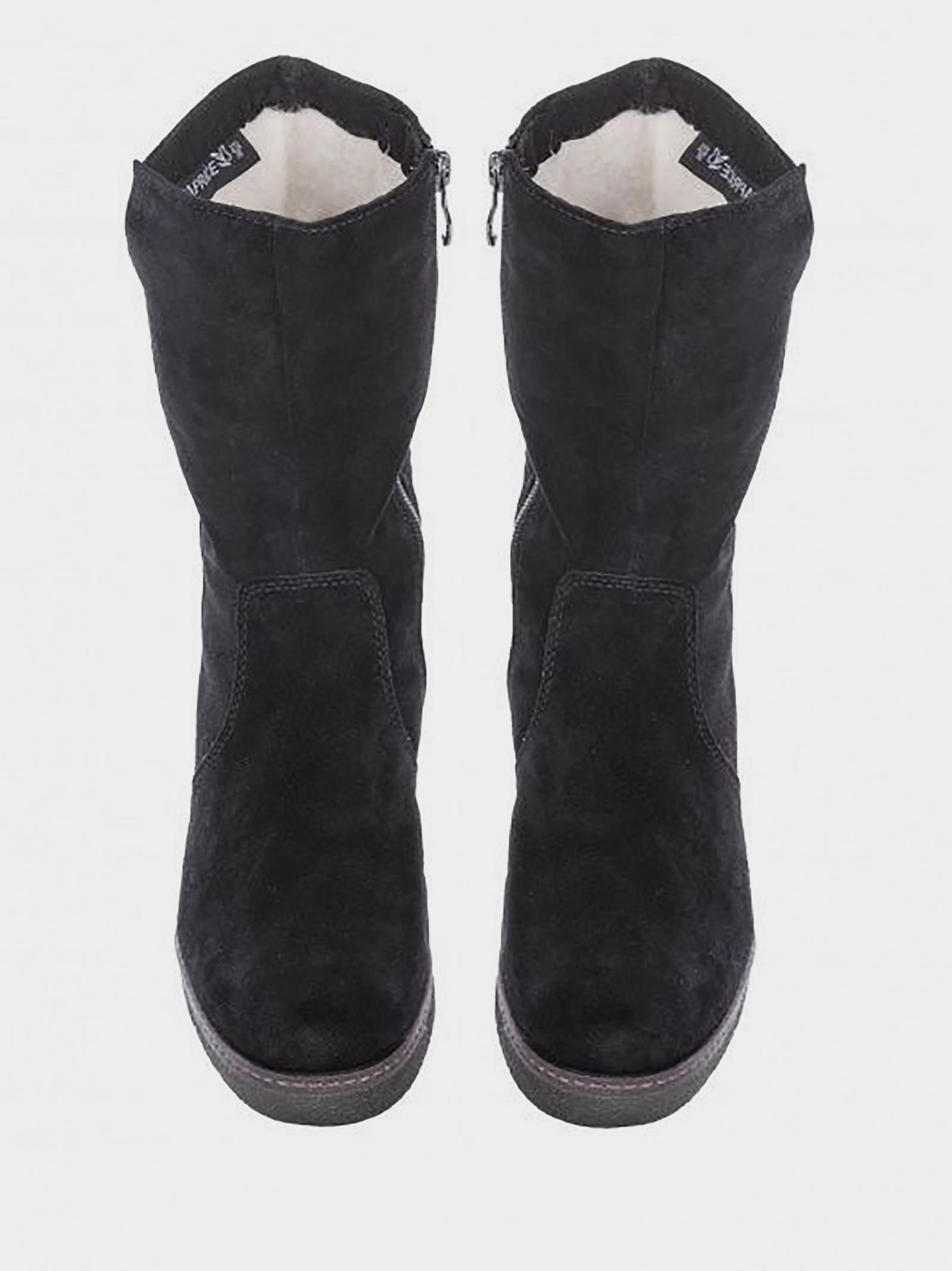 Чоботи  для жінок Caprice 26450-21-004 BLACK SUEDE купити в Iнтертоп, 2017