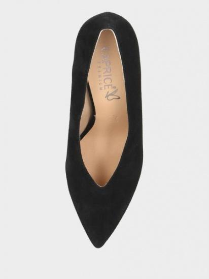 Туфлі Caprice модель 22403-23-004 BLACK SUEDE — фото 5 - INTERTOP
