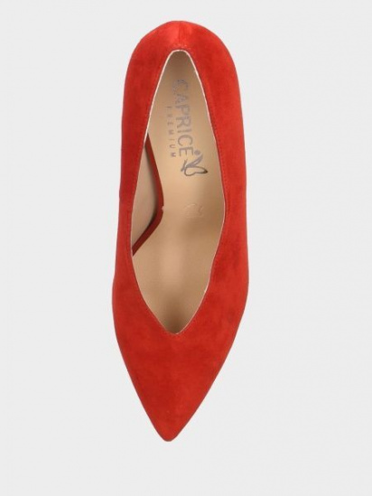 Туфлі Caprice модель 22403-23-530 RED SUEDE — фото 5 - INTERTOP