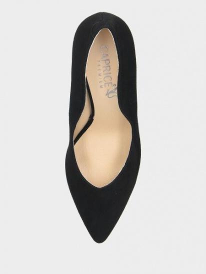 Туфлі Caprice модель 22412-23-004 BLACK SUEDE — фото 5 - INTERTOP