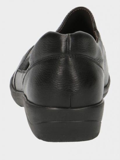 Напівчеревики Caprice модель 24601-23-022 BLACK NAPPA — фото 3 - INTERTOP