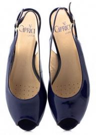 Босоніжки  для жінок Caprice 28315-26-899 ocean patent розмірна сітка взуття, 2017