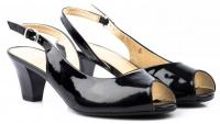 Босоніжки  для жінок Caprice 29500-26-018 black patent модне взуття, 2017