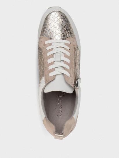 Кросівки для міста Caprice модель 23600-24-921 LT GOLD/WHITE — фото 3 - INTERTOP