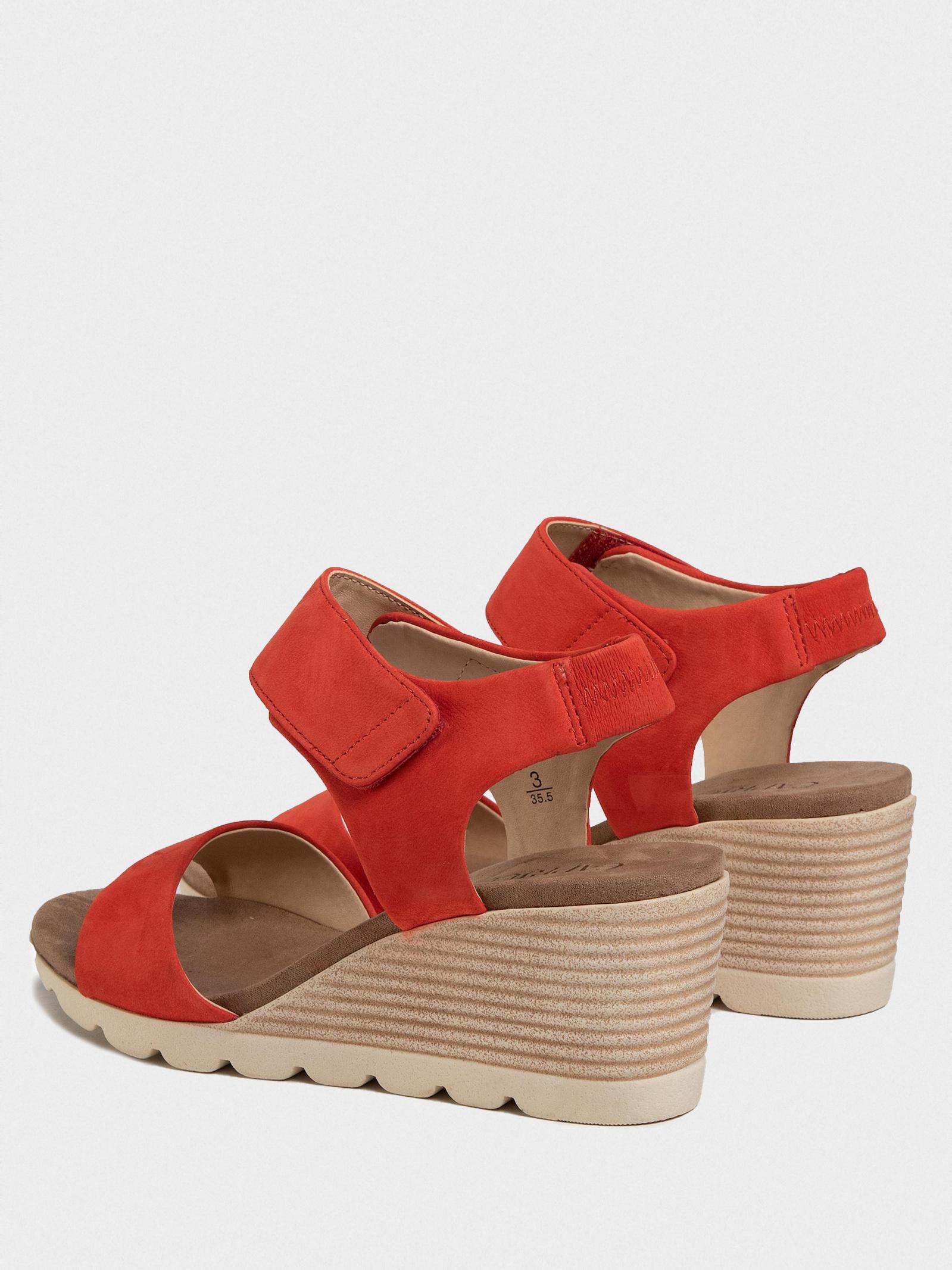 Босоножки для женщин Caprice 28706-24-532 CORAL NUBUC модная обувь, 2017