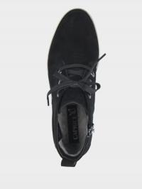 Черевики жіночі Caprice 9-9-25103-25 004 BLACK SUEDE - фото