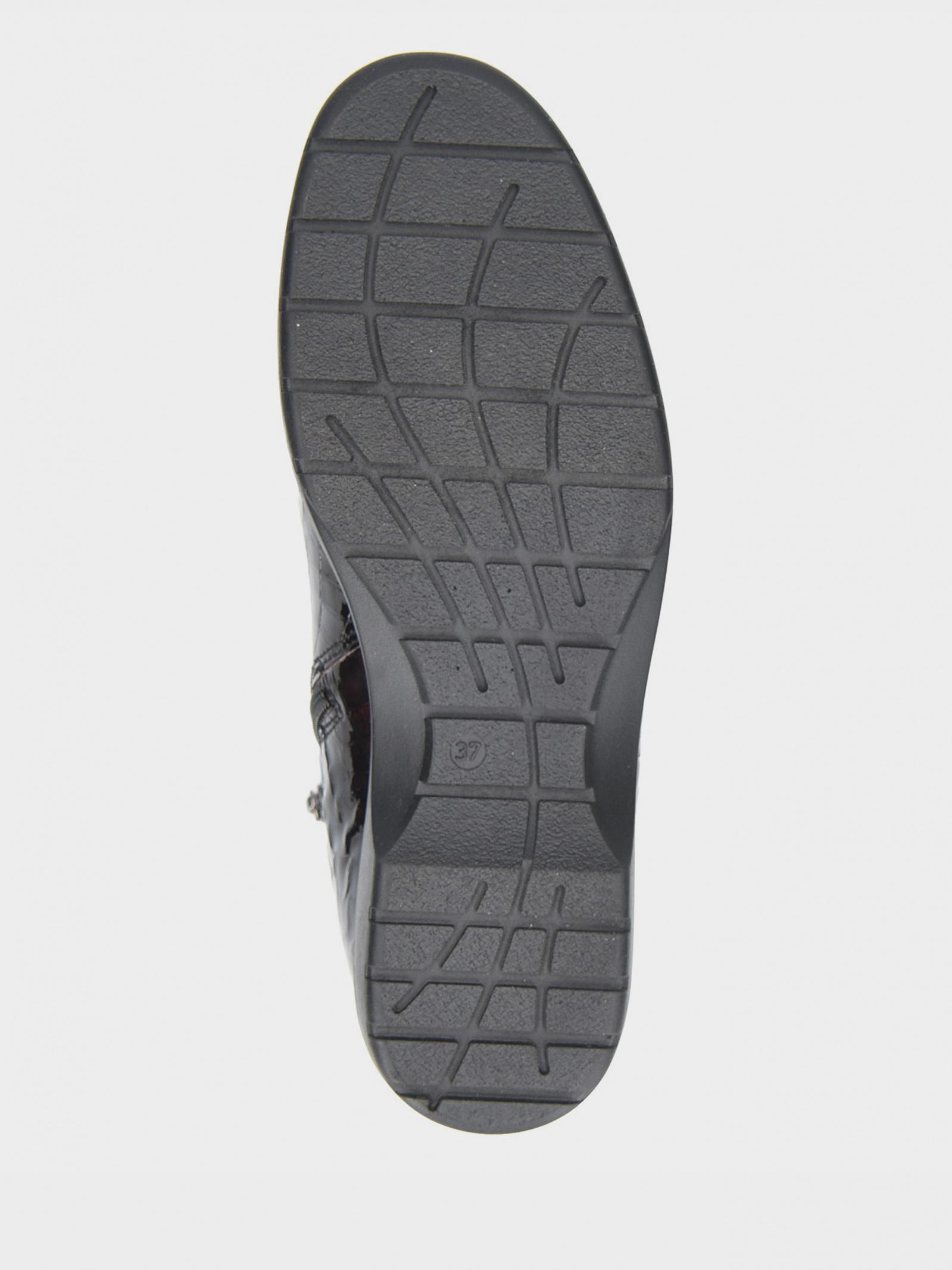 Черевики  для жінок Caprice 9-9-25355-25 533 BORDEAUX CROC брендове взуття, 2017