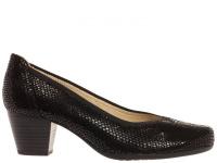 Туфли для женщин Caprice 22301-28-010 black reptile цена обуви, 2017