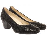 Туфли для женщин Caprice 22301-28-010 black reptile купить, 2017