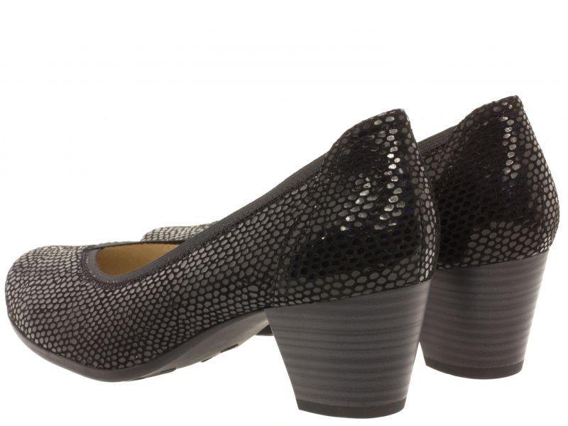Туфли для женщин Caprice 22301-28-010 black reptile брендовая обувь, 2017