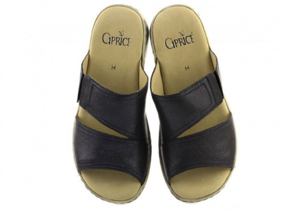 Шлёпанцы для женщин Caprice 27200-28-890 deep blue metal размерная сетка обуви, 2017