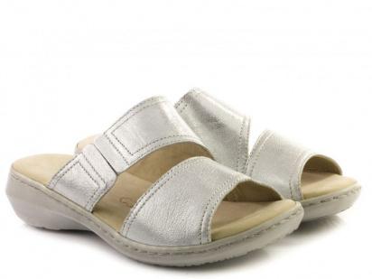 Шлёпанцы для женщин Caprice 27200-28-920 silver metal брендовая обувь, 2017