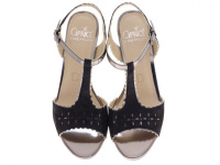 Босоножки для женщин Caprice 28305-28-033 black sue comb размерная сетка обуви, 2017