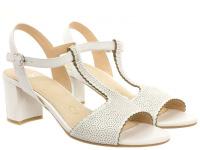 Босоножки для женщин Caprice 28311-28-102 white nappa брендовая обувь, 2017