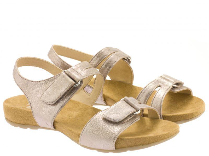 Сандалии для женщин Caprice 28607-28-521 rose metallic брендовая обувь, 2017