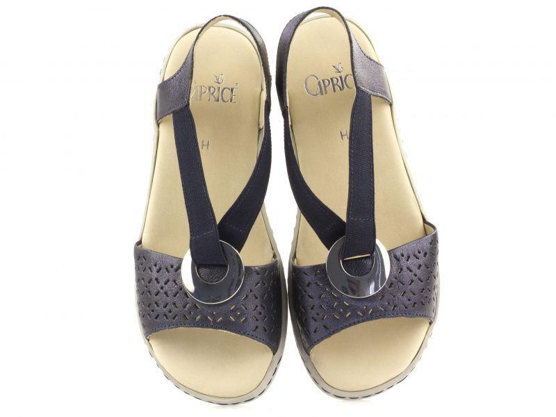 Сандалии для женщин Caprice 28603-28-890 deep blue metal размерная сетка обуви, 2017