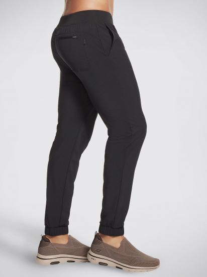 Спортивні штани Skechers GOwalk Wear™ модель M1PT55 BLK — фото 2 - INTERTOP