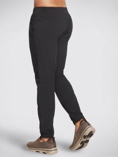 Спортивні штани Skechers GOwalk Wear™ модель M1PT55 BLK — фото 3 - INTERTOP