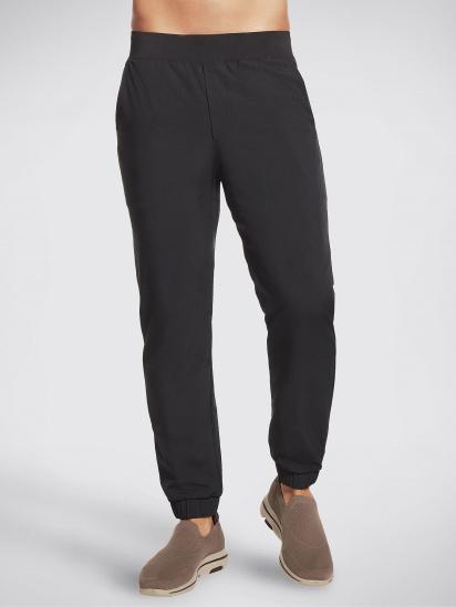 Спортивні штани Skechers GOwalk Wear™ модель M1PT55 BLK — фото - INTERTOP